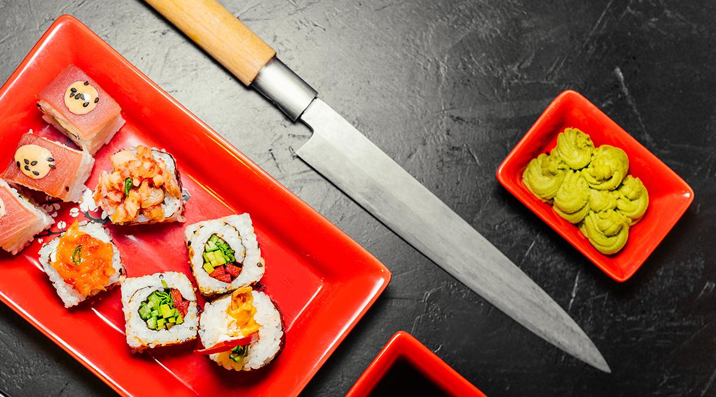 sushi vinho