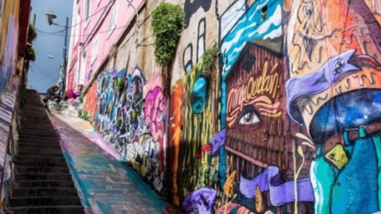 Rota de vinhos e graffiti é lançada no Chile