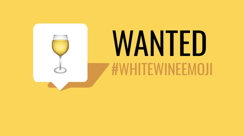 Vinícola americana faz campanha para emoji de vinho branco