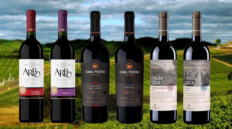Vinhos da Casa Perini são mais saudáveis que rótulos sul-americanos e europeus