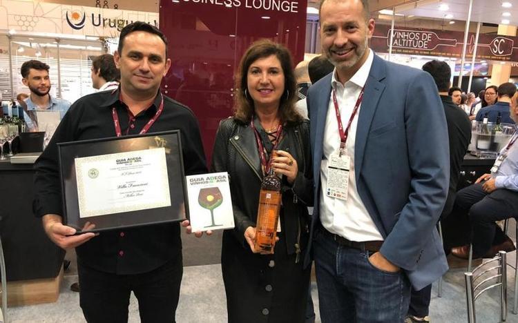 Vinho da Villa Francioni é eleito Melhor Rosé do país