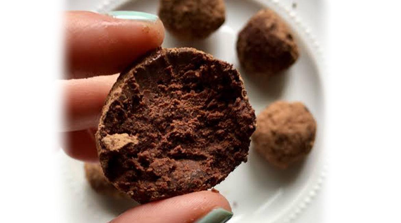 Trufas de Chocolate com Vinho do Porto