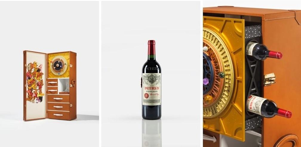Vinho envelhecido no espaço será colocado à venda por cerca de US$ 1 milhão
